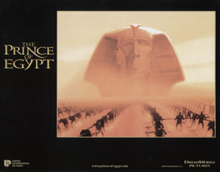 Prince Of Egypt Movie Cast Autographs, Memorabilia