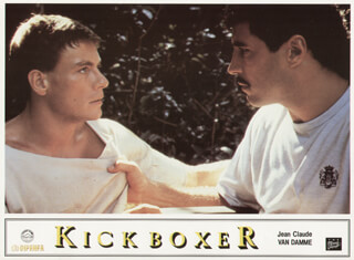 KICKBOXER MOVIE CAST - LOBBY CARD UNSIGNED (USA) 1989