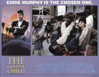 THE GOLDEN CHILD MOVIE CAST - LOBBY CARD UNSIGNED (USA) 1986