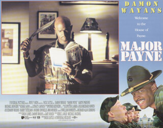 MAJOR PAYNE MOVIE CAST - LOBBY CARD UNSIGNED (USA) 1995