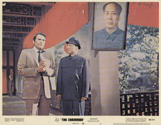 THE CHAIRMAN MOVIE CAST - LOBBY CARD UNSIGNED (USA) 1969