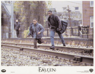 FALLEN MOVIE CAST - LOBBY CARD UNSIGNED (USA) 1998