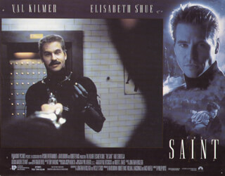 THE SAINT MOVIE CAST - LOBBY CARD UNSIGNED (USA) 1997