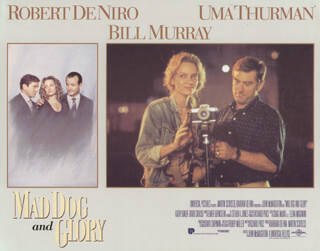 MAD DOG AND GLORY MOVIE CAST - LOBBY CARD UNSIGNED (USA) 1993
