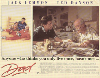 DAD MOVIE CAST - LOBBY CARD UNSIGNED (USA) 1989