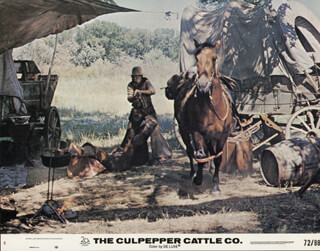 THE CULPEPPER CATTLE CO. MOVIE CAST - LOBBY CARD UNSIGNED (USA) 1972