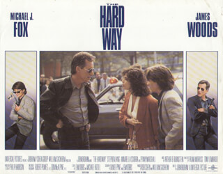 THE HARD WAY MOVIE CAST - LOBBY CARD UNSIGNED (USA) 1991