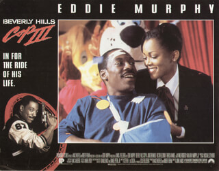 BEVERLY HILLS COP III MOVIE CAST - LOBBY CARD UNSIGNED (USA) 1994