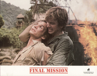FINAL MISSION MOVIE CAST - LOBBY CARD UNSIGNED (USA) 1985