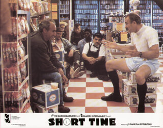 SHORT TIME MOVIE CAST - LOBBY CARD UNSIGNED (USA) 1990