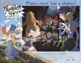 RUGRATS IN PARIS MOVIE CAST - LOBBY CARD UNSIGNED (USA) 2000