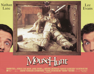 MOUSE HUNT MOVIE CAST - LOBBY CARD UNSIGNED (USA) 1997