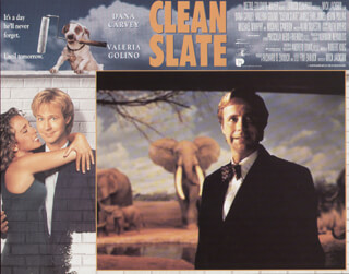 CLEAN SLATE MOVIE CAST - LOBBY CARD UNSIGNED (USA) 1994