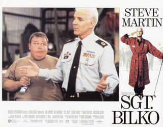 SERGEANT BILKO MOVIE CAST - LOBBY CARD UNSIGNED (USA) 1996