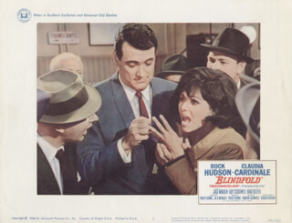 BLINDFOLD MOVIE CAST - LOBBY CARD UNSIGNED (USA) 1966