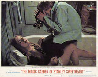 THE MAGIC GARDEN OF STANLEY SWEETHEART MOVIE CAST - LOBBY CARD UNSIGNED (USA) 1970