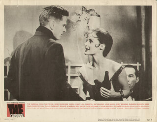 THE CARDINAL MOVIE CAST - LOBBY CARD UNSIGNED (USA) 1963