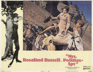MRS. POLLIFAX-SPY MOVIE CAST - LOBBY CARD UNSIGNED (USA) 1971