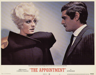 THE APPOINTMENT MOVIE CAST - LOBBY CARD UNSIGNED (USA) 1969