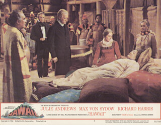 HAWAII MOVIE CAST - LOBBY CARD UNSIGNED (USA) 1966