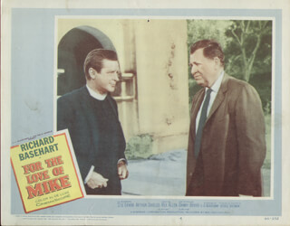 FOR THE LOVE OF MIKE MOVIE CAST - LOBBY CARD UNSIGNED (USA) 1960