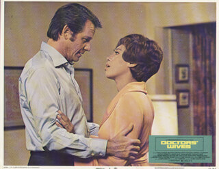 DOCTOR'S WIVES MOVIE CAST - LOBBY CARD UNSIGNED (USA) 1970