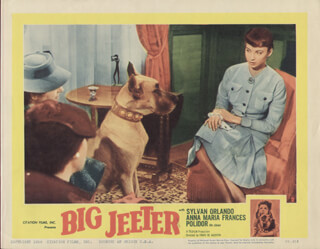BIG JEETER MOVIE CAST - LOBBY CARD UNSIGNED (USA)
