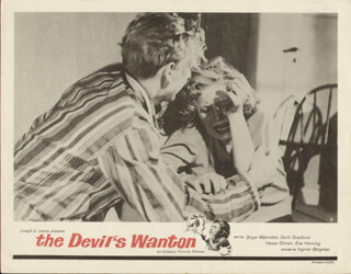 THE DEVIL'S WANTON MOVIE CAST - LOBBY CARD UNSIGNED (USA) 1949