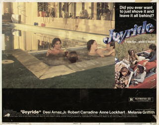 JOYRIDE MOVIE CAST - LOBBY CARD UNSIGNED (USA) 1977