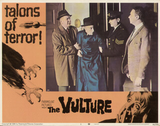 THE VULTURE MOVIE CAST - LOBBY CARD UNSIGNED (USA) 1967
