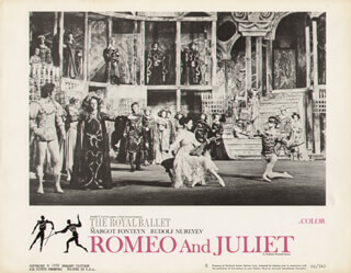 ROMEO AND JULIET BALLET - LOBBY CARD UNSIGNED (USA) 1966