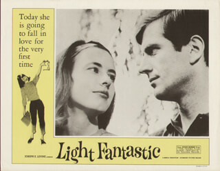 LIGHT FANTASTIC MOVIE CAST - LOBBY CARD UNSIGNED (USA) 1964