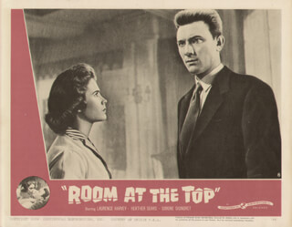ROOM AT THE TOP MOVIE CAST - LOBBY CARD UNSIGNED (USA) 1959