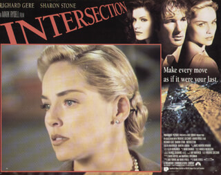 INTERSECTION MOVIE CAST - LOBBY CARD UNSIGNED (USA) 1994