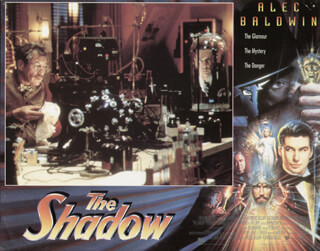 THE SHADOW MOVIE CAST - LOBBY CARD UNSIGNED (USA) 1994