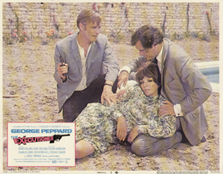 EXECUTIONER MOVIE CAST - LOBBY CARD UNSIGNED (USA) 1970