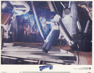 SUPERMAN III MOVIE CAST - LOBBY CARD UNSIGNED (USA) 1983