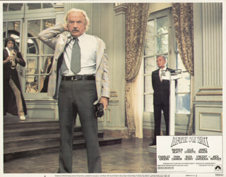 HEAVEN CAN WAIT MOVIE CAST - LOBBY CARD UNSIGNED (USA) 1978