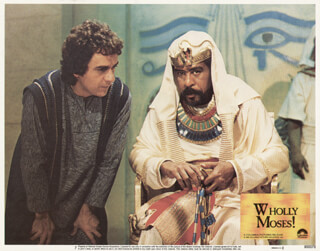 WHOLLY MOSES MOVIE CAST - LOBBY CARD UNSIGNED (USA) 1980