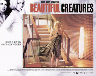BEAUTIFUL CREATURES MOVIE CAST - LOBBY CARD UNSIGNED (USA) 2000