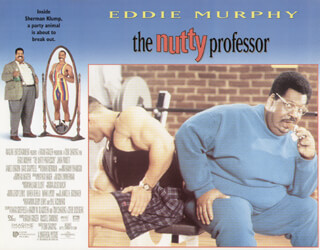 NUTTY PROFESSOR MOVIE CAST - LOBBY CARD UNSIGNED (USA) 1996