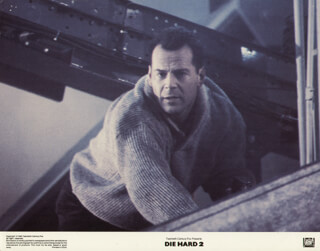 DIE HARD 2 MOVIE CAST - LOBBY CARD UNSIGNED (USA) 1990