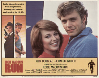 EDDIE MACON'S RUN MOVIE CAST - LOBBY CARD UNSIGNED (USA) 1983