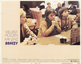 BREEZY MOVIE CAST - LOBBY CARD UNSIGNED (USA) 1973