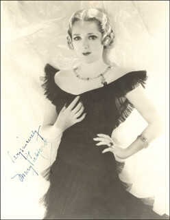 MARY PICKFORD - AUTOGRAPHED SIGNED PHOTOGRAPH