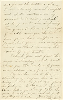 FREELAN O. STANLEY - AUTOGRAPH LETTER SIGNED 01/23/1900