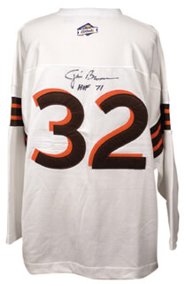 JIM BROWN - JERSEY SIGNED