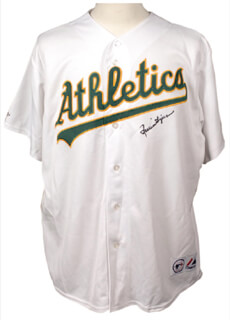ROLLIE FINGERS - JERSEY SIGNED