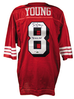 STEVE YOUNG - JERSEY SIGNED