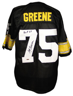 JOE MEAN JOE GREENE - JERSEY SIGNED